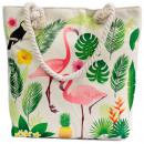 Großhandel Handtaschen: Seilgrifftasche - Flamingo & More