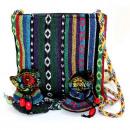 Großhandel Handtaschen: Tibetan Fringe Tasche - Med & zwei Beutel