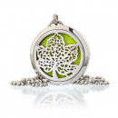 wholesale Necklaces: Aromatherapy Jewellery Necklace - Leaf 30mm