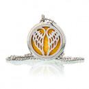 grossiste Chaines: Collier de bijoux Aromathérapie - Angel Wings 30mm