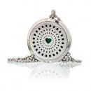 wholesale Necklaces: Aromatherapy Jewellery Necklace - Diamonds Heart 3