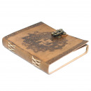 wholesale Notebooks & Tablets: Leather Greenman Notebook (20x15 cm)