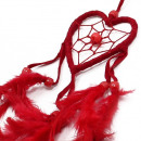 wholesale Giftware: Bali Dreamcatchers - Small Heart - Black/White/Red