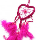 nagyker Ajándékok: Bali Dreamcatchers - Kis szív - Török / Rózsaszín
