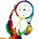 wholesale Giftware: Bali Dreamcatchers - Medium Round - Rainbow