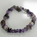 wholesale Bracelets: Chipstone Bracelet - Amethyst