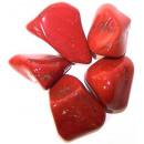 Großhandel sonstige Taschen: L Trommelsteine - Jaspis - Rot
