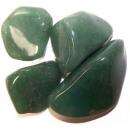Großhandel sonstige Taschen: L Trommelsteine - Quarzgrün