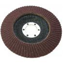Disque abrasif pour meule à lamelles 125 p 80