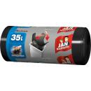 Garbage bag jan indispensable 35l black 30s