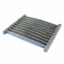 wholesale Burning Stoves: Cast iron grate kitchen insert for the stove 30x21