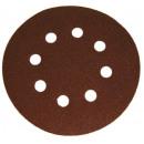 Velcro abrasive discs with 125mm holes p60 5 pcs