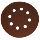 Velcro abrasive discs with 150mm holes p120 5pcs
