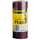 Abrasive cloth roll 2,5m 115mm p120 paper