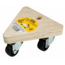 groothandel Tuin & Doe het zelf: Driehoekig transportplatform 130mm 100kg