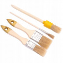wholesale Painting Supplies: Set of 4 round English painting brushes
