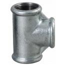 Tee ridotto in ghisa zincata 6 / 4x5 / 4x6 / 4