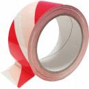 nagyker Irodai és üzleti berendezések: Figyelmeztető szalag, öntapadó, fehér és piros
