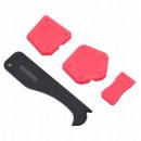 grossiste Peintre besoins: Couteau à mastic en silicone avec cutter 4 pcs mas