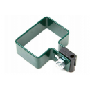 Post clamp for fencing panels 60x40 fi 5