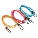 wholesale Car accessories: Luggage rubber 8mm / 100cm 3 pcs tightening rope