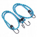 wholesale Car accessories: Luggage rubber 8mm / 25cm 2 pcs tightening cord