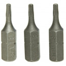Embouts Torx t20 x 25 mm Embouts 3 pièces Embout T