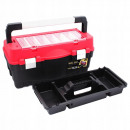Tool box with organizer 550 durable