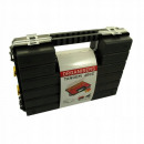 Hand-held double-sided organizer tool case