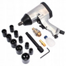 wholesale Garden & DIY store: Pneumatic impact wrench + 1/2 '' sockets