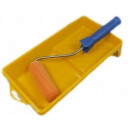 Paint roller moltoflok with handle cuvette 15cm fi
