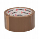 Großhandel Geschäftsausstattung: Braunes Packband, Gummi, 48 mm / 66 m