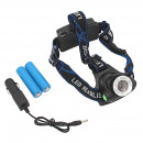 wholesale Flashlights: Headlamp 2 + 1 led head lamp waterproof