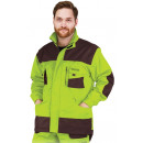 wholesale Working clothes: Protective jacket, reinforced, working, lime green