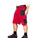 wholesale Trousers: Red formen protective work shorts