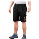 wholesale Trousers: Black protective safety work shorts