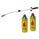 wholesale Pencils & Writing Instruments: Heat gun burner leaf burner weed 2 cartridges