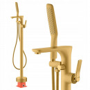 wholesale Heating & Sanitary: Free-standing bathroom faucet, golden matt high