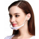 Mini protective helmet cover nose and mouth mask