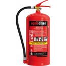 Abc powder fire extinguisher 9 kg hose valve fire