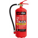 Abc powder fire extinguisher 6 kg hose valve fire