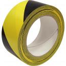 Gele vinyl zelfklevende waarschuwingstape