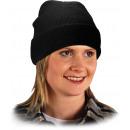 grossiste Casquette: Chapeau d'hiver épais, noir et isolé