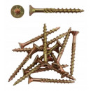 Carpenter's screw for wood torx boards 6x140 1