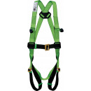 Adjustable safety harness sitting position