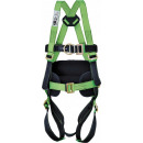 Safety harness belt positioning ring