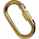 Fastener lock with screw automatic closing