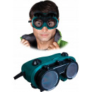 Ventilated welding goggles glasses