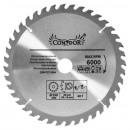 Wood circular saw 250 mm 40 t widia teeth
