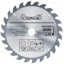 180 mm wood circular saw 24 t widia teeth
